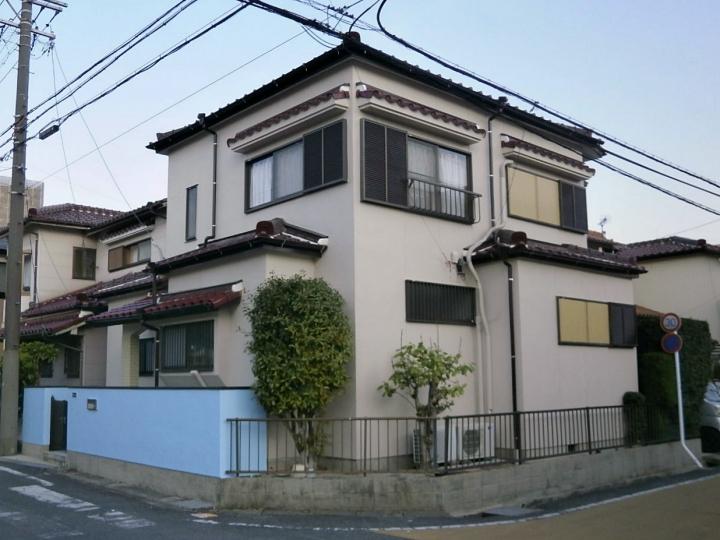 日本ペイントの人気塗料ファインパーフェクトトップで外壁塗装!キリッと引き締まった雰囲気に 尾張旭市