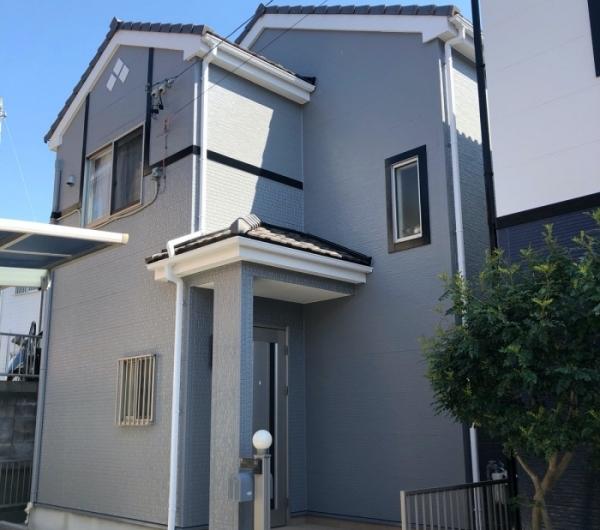 外壁の汚れを目立たなく長持ちする塗装プランと色選びでお家が素敵に大変身! 半田市