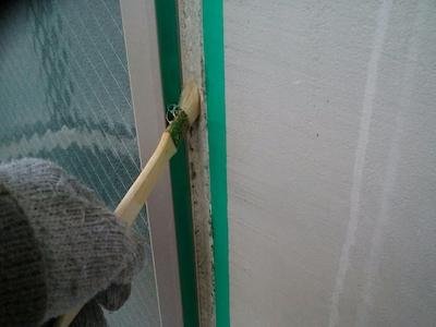 ガルバリウム外壁の色をブラックに塗装してカッコイイ仕上がりに 名古屋市天白区