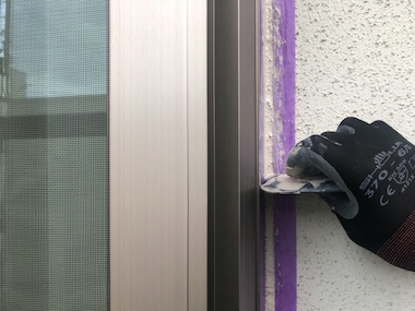 ソーラーパネルのある屋根塗装と風合いそのまま外壁塗装 名古屋市緑区