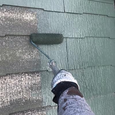 屋根棟板金の釘浮きや防水処理を入念にキレイが長持ちする塗り替え 名古屋市緑区