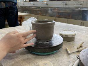 陶芸体験をしてきました!!