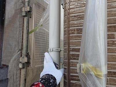サイディングの美しさを長持ちさせる丁寧な下地処理とクリア(透明塗料)塗装 名古屋市守山区