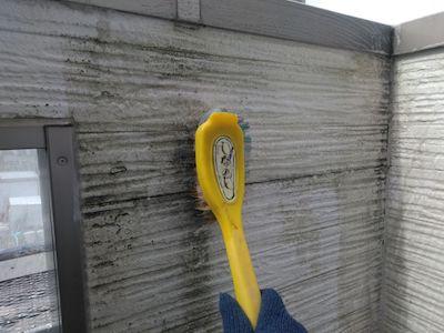 半艶(ツヤ)、現状色と色合わせをして雰囲気を大切に外壁塗装 春日井市