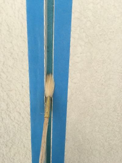 白と青のスッキリとした艶を抑えた質感に外壁塗装 尾張旭市
