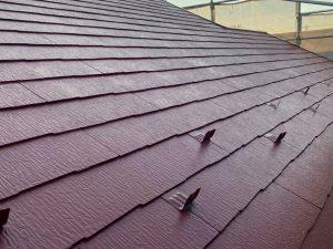 愛西市屋根塗装完成