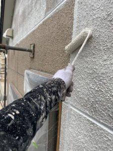 外壁下塗り1回目