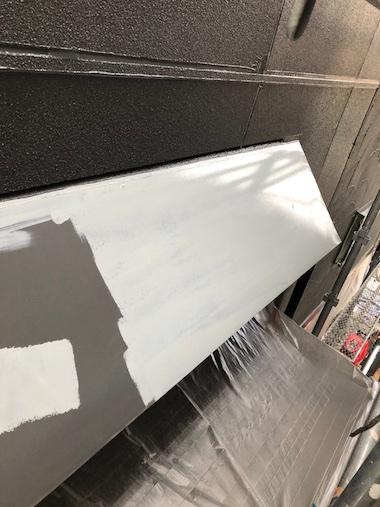 外壁塗装、雨戸・雨樋・破風板などの付帯塗装も丁寧に施工 東海市