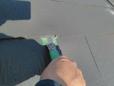 グレーの色使いがモダンな屋根外壁塗り替え 名古屋市緑区
