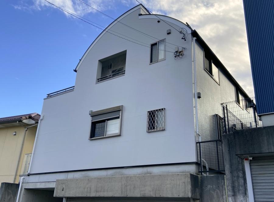 新築時と同じ色イメージを再現した外壁塗り替え 東郷町