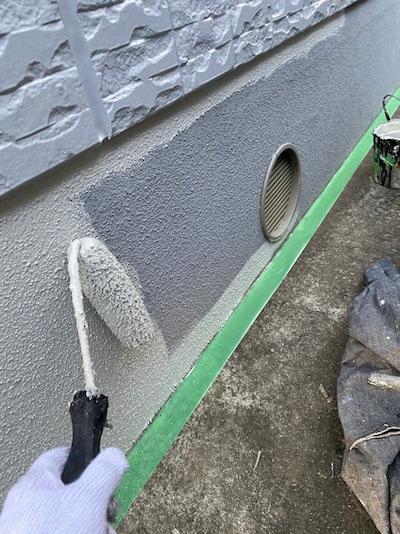 ダイワハウス住宅ドーマーのあるスレート屋根塗装と外壁塗装(タテイル2) 日進市