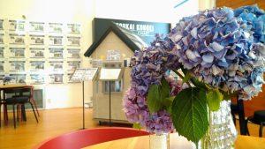 ショールームのお花たち