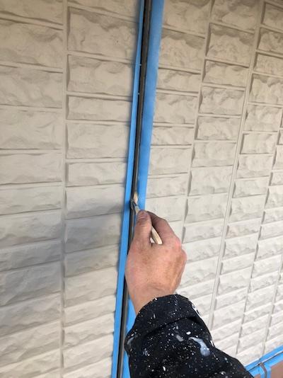 白黒グレーのモノトーンへトヨタホーム住宅の外壁・付帯を色分け塗装 知立市
