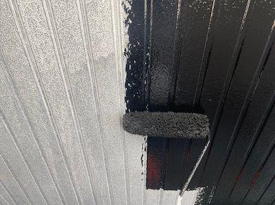 ブラックホワイトのモノクロ!かっこよすぎる屋根外壁塗装 名古屋市瑞穂区