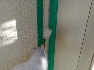 外壁色を白から落ち着いた黄色系(イエロー)におしゃれに塗り替え!尾張旭市