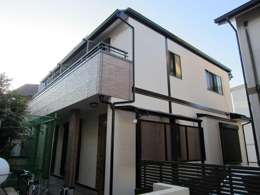 高級感あるピンクベージュとクリア外壁塗装で美観と機能性を回復 名古屋市緑区