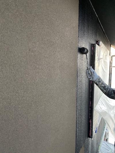 マットグレー色で外壁塗装!新築みたいなシックな外観に大変身 名古屋市南区
