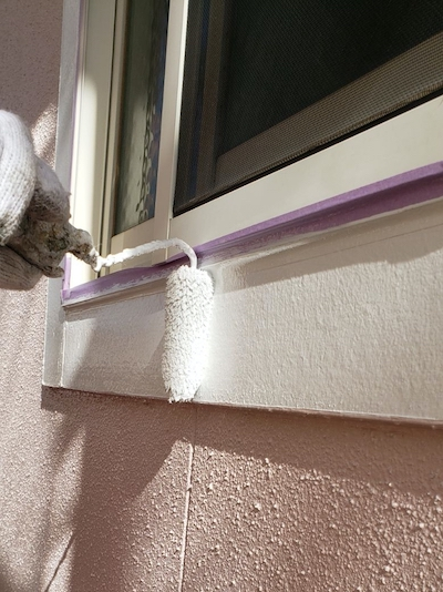 周囲との調和が絶妙!ピンクグレー色の外壁に塗り替え 名古屋市天白区