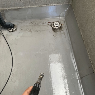 弾性無機塗料を使用して旭化成住宅の外壁塗装、屋根塗装 長久手市