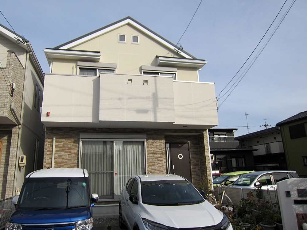 屋根カバー工法、外壁塗装、ベランダのウレタン防水など長持ちするお家メンテナンス! 名古屋市瑞穂区